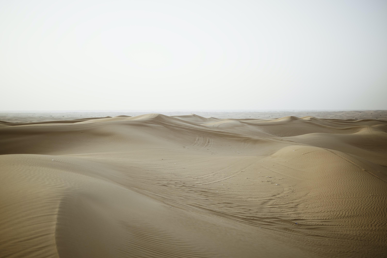 empty sand dunes