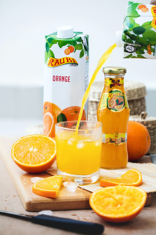 orange juice pack