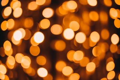 orange and black bokeh light diwali zoom background