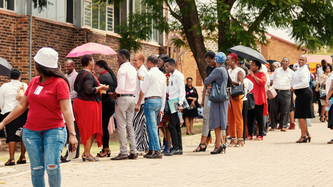 I was at a conference in Limpopo recently and during the tea breaks there were always long queues to get refreshments. What I loved though, was that everyone used these moments to laugh, to chat and generally enjoy themselves rather than moan about having to wait. This is Africa for you!