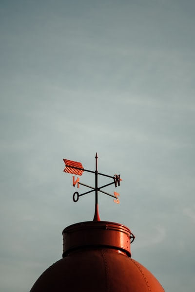 wind vane at daytime