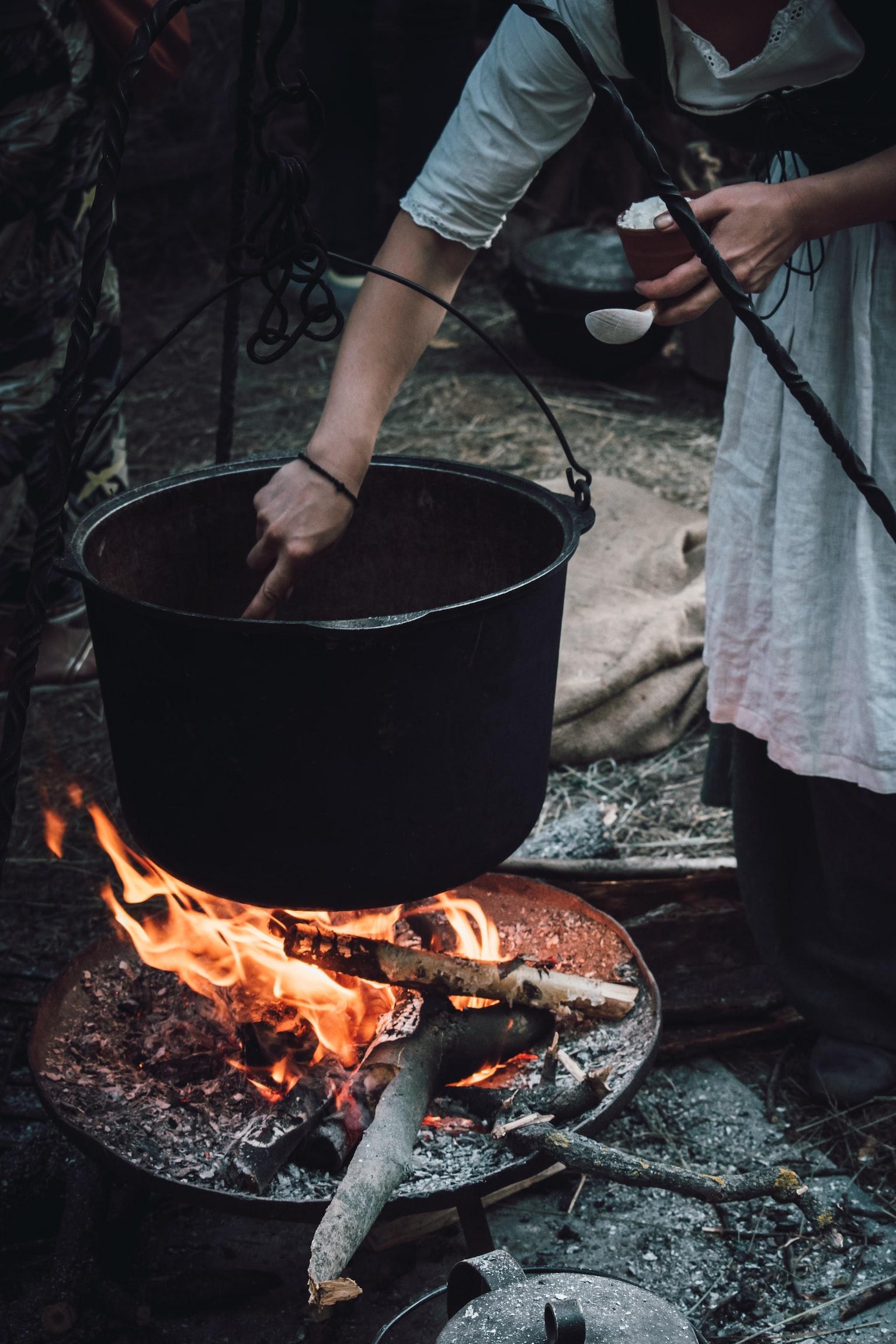 Cómo usar un horno holandés