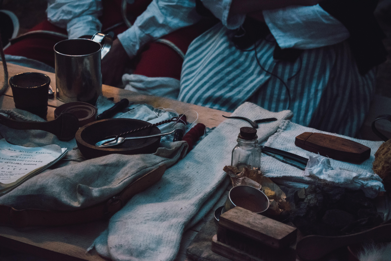 utensils on tabletop