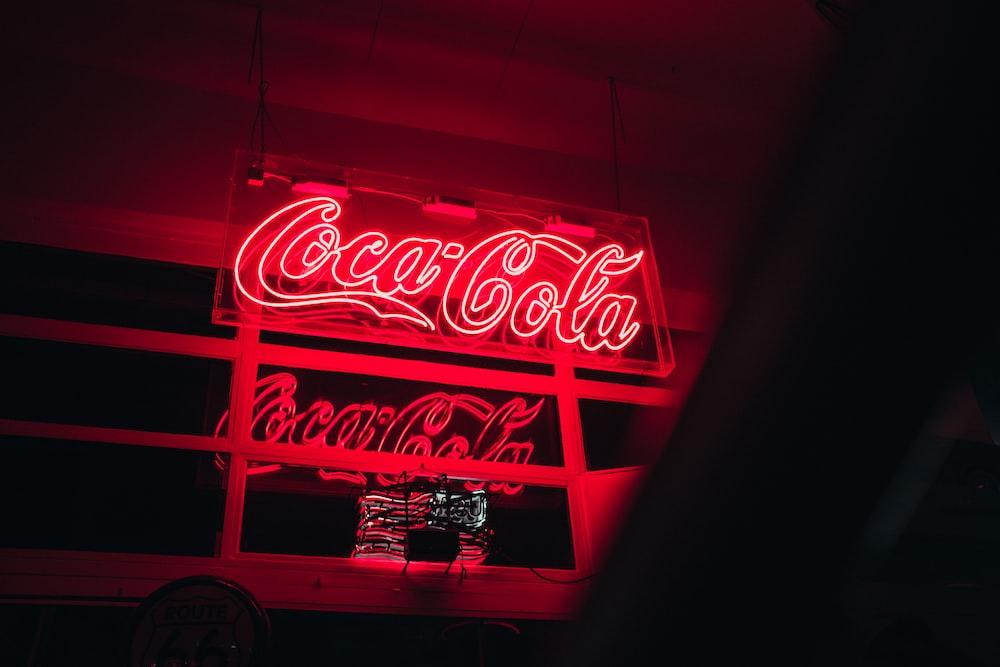 Coca-Cola LED signage