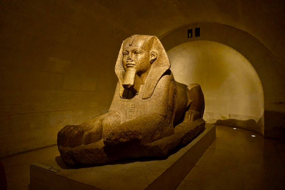 The Great Sphinx statue