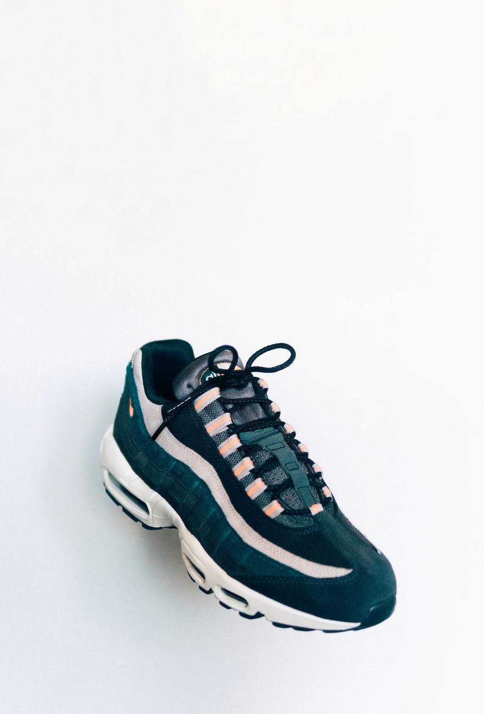 black and white Nike Air Max 95 sneaker