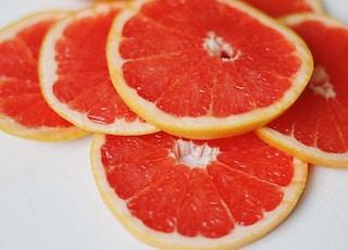 sliced fruits