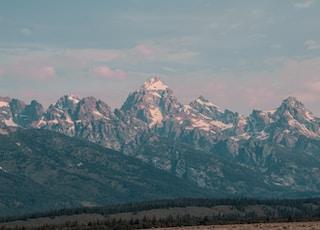 gray mountain hill