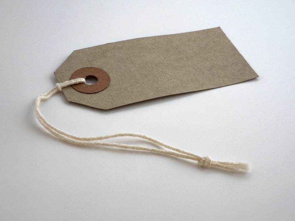 gray tag