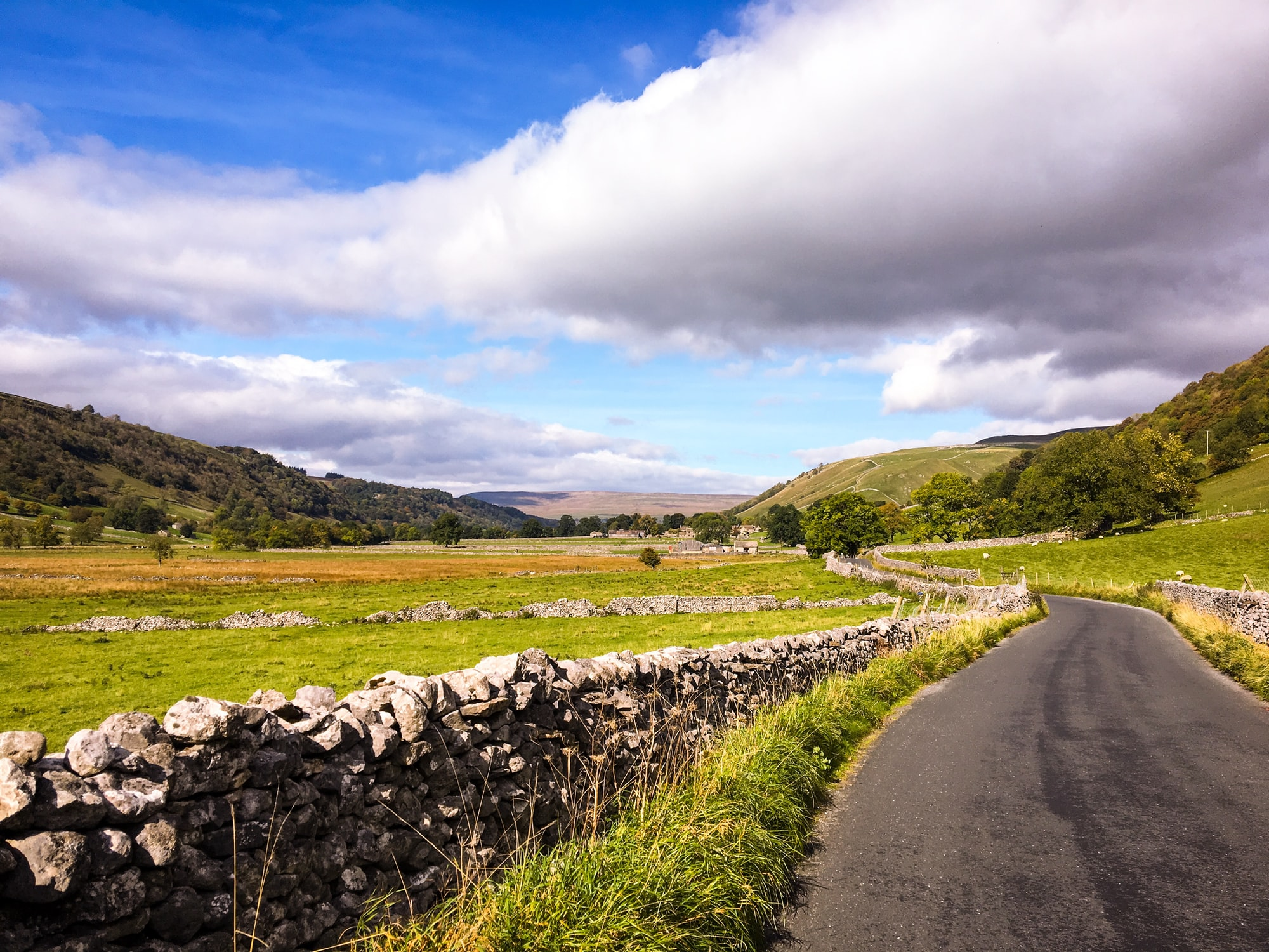 Solo bike ride through the heart of the Yorkshire Dales.