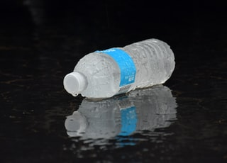 water plastic bottle