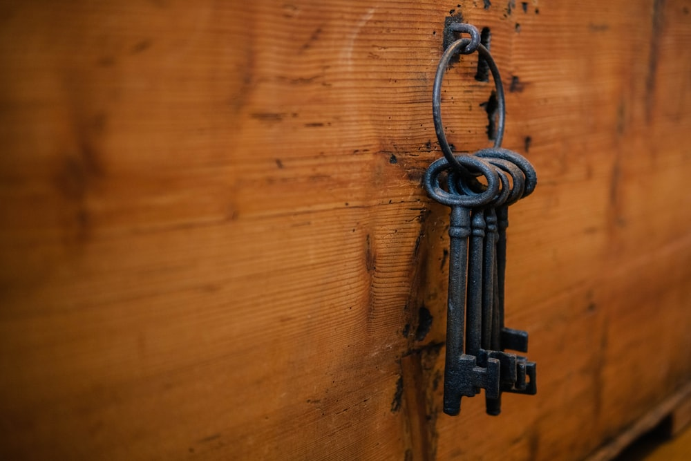 black skeleton keys