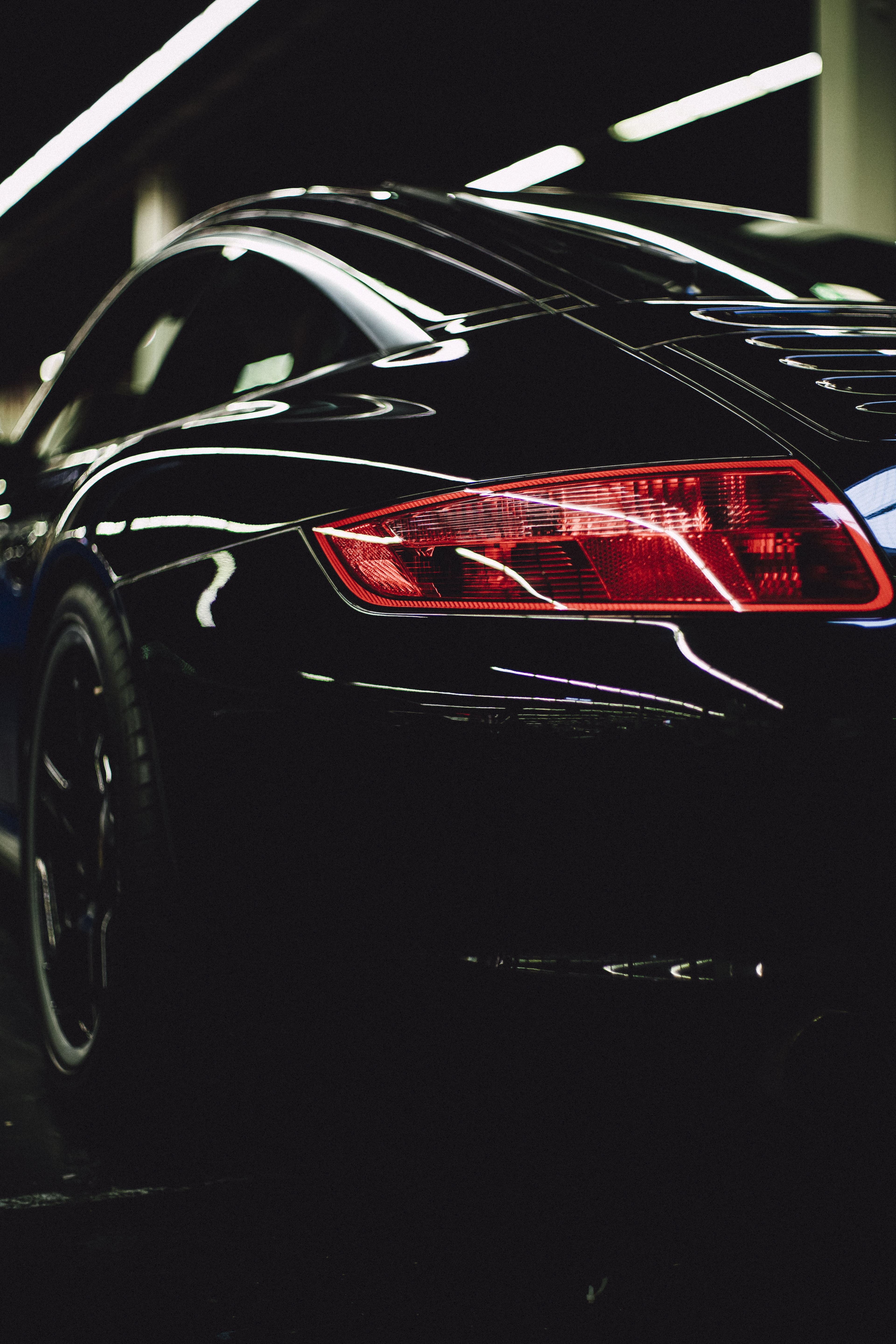 black coupe