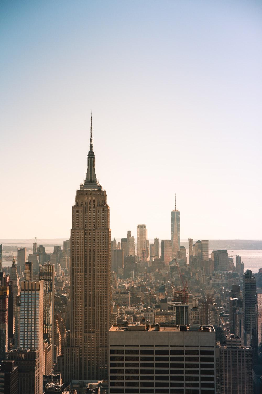 New York city buildings photo