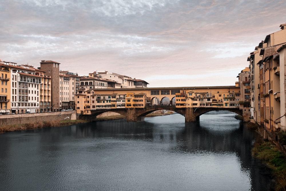 bridge between buildings