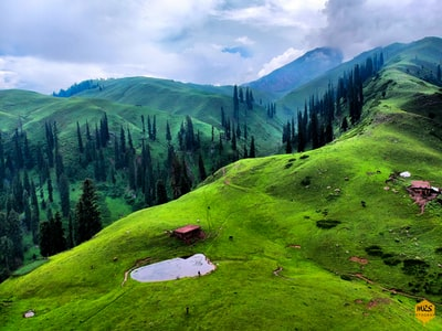 green mountains pakistan teams background