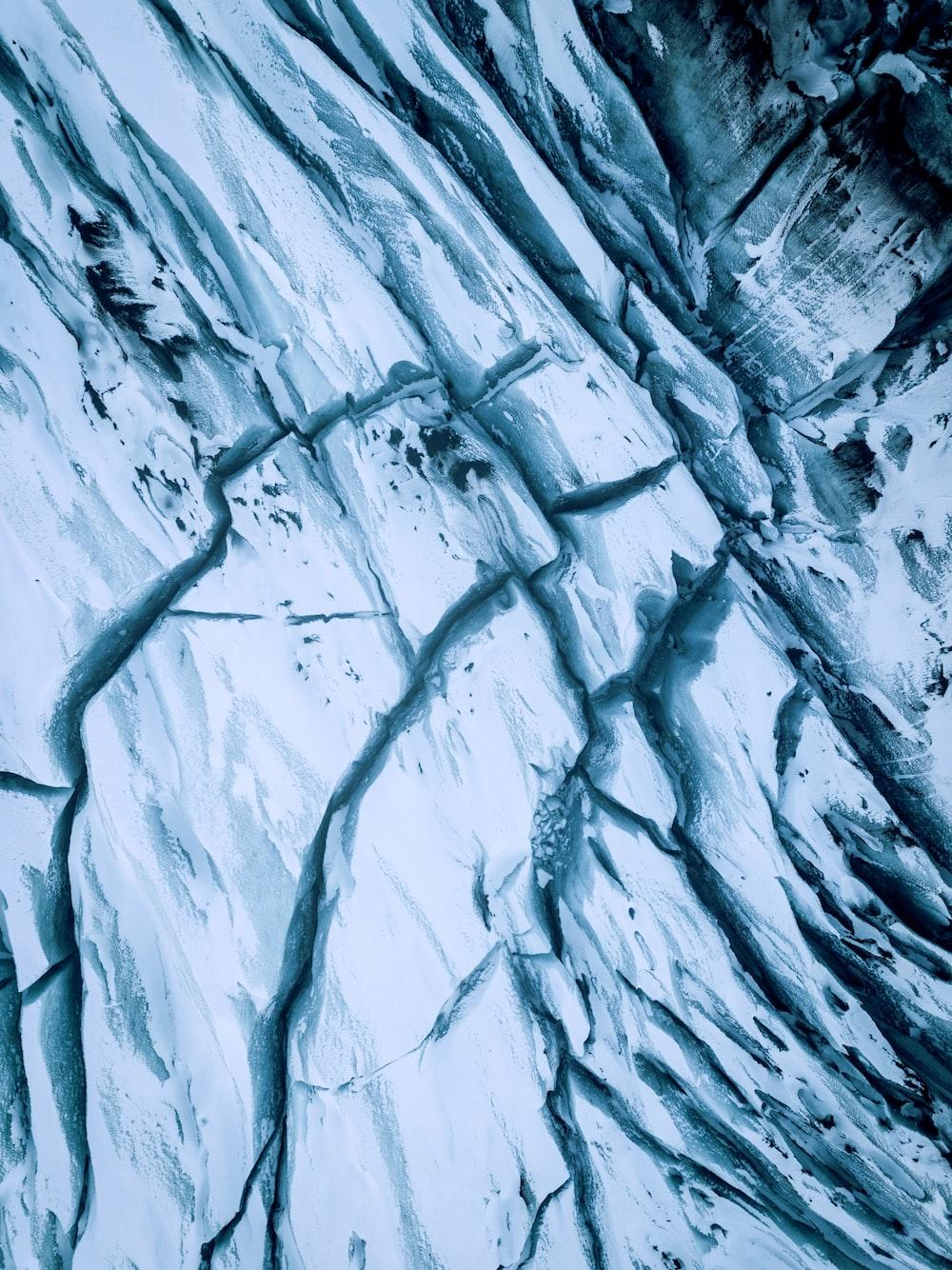 cracked rock formation illustration