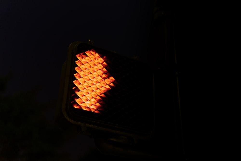 slow down traffic light sign