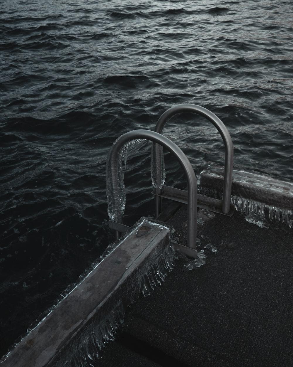 stainless steel pool handlebar