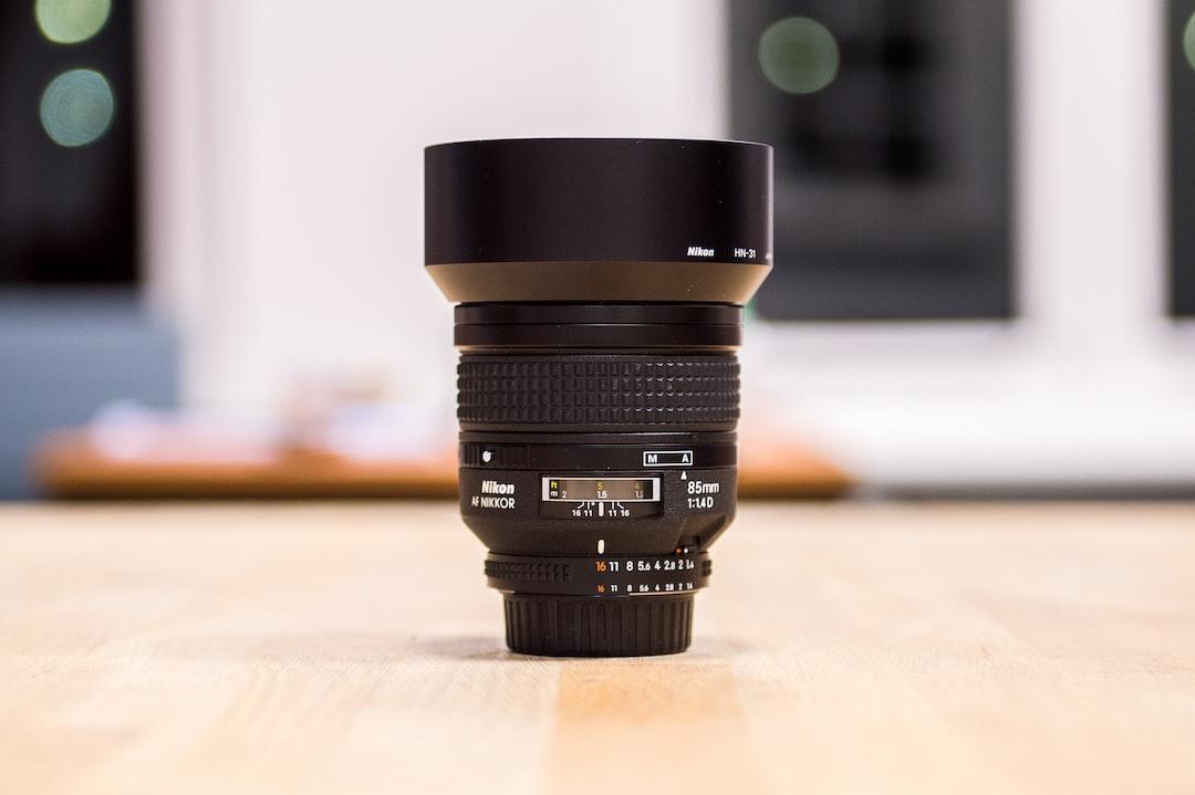 Nikon 85 f/1.4 portrait lens