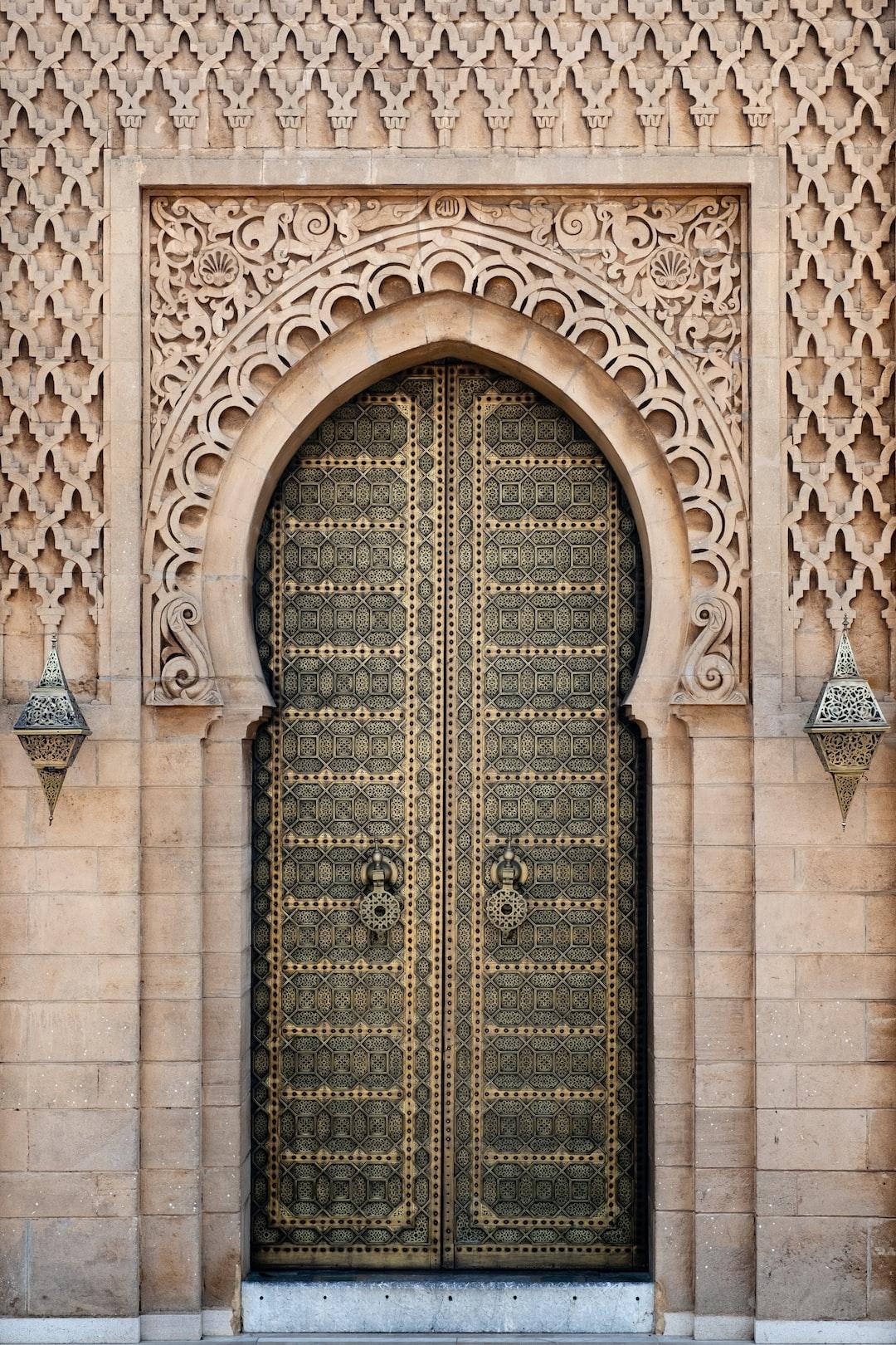 Door in Hassan Tower