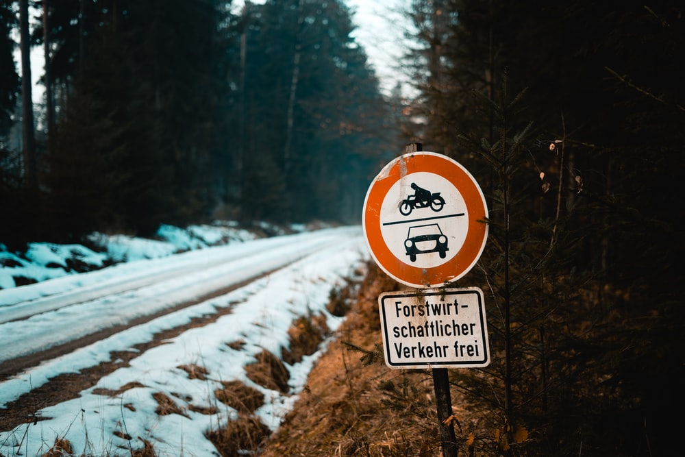 street signage