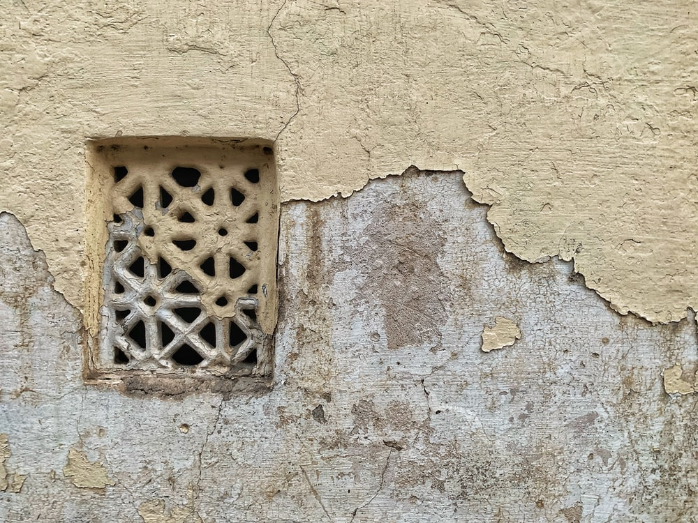 concrete window frame