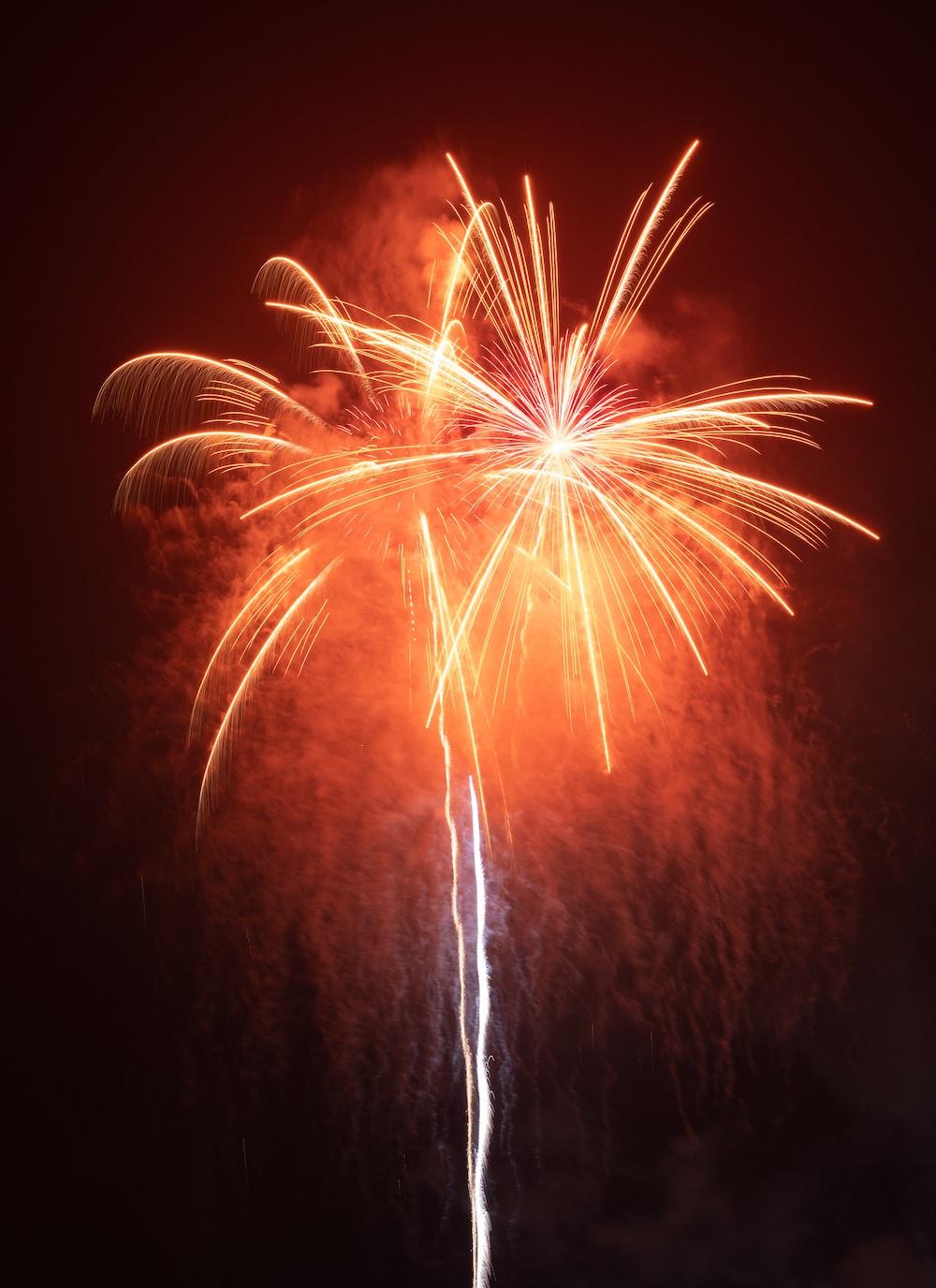 firecracker during nighttime clip art