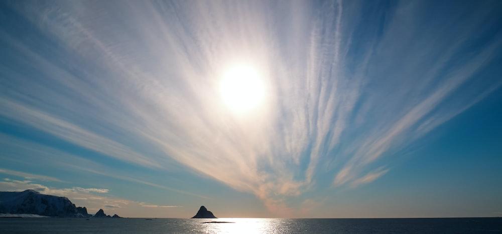 ocean during sunrise