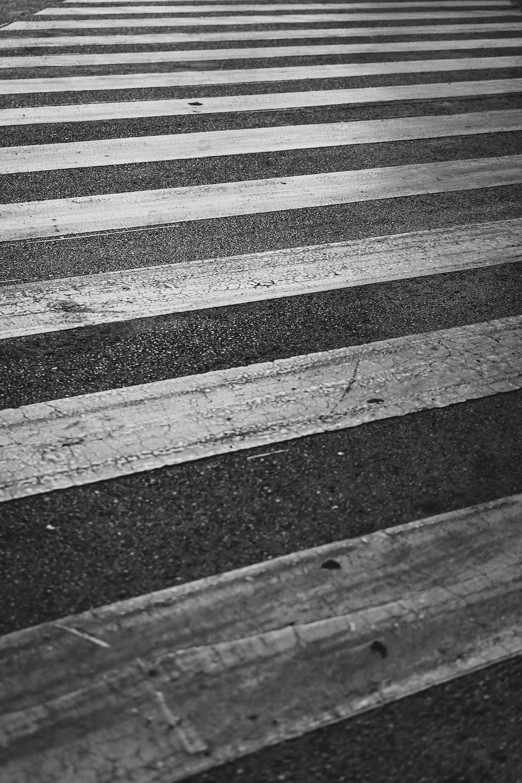 black and gray asphalt road