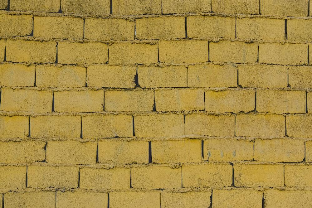 empty concrete brick wall