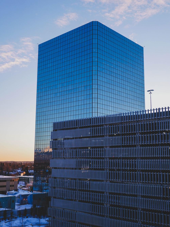 glass window building