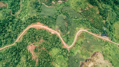 aerial photography of road aerial view teams background
