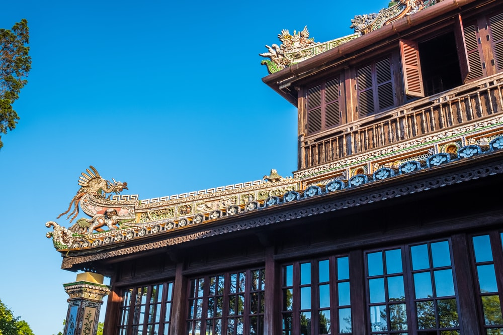 brown wooden temple with open windows