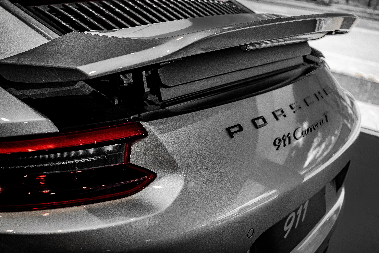 grey Porsche 911 Carrera