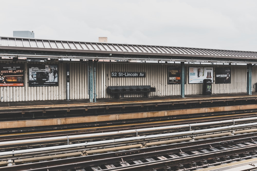 black train rail