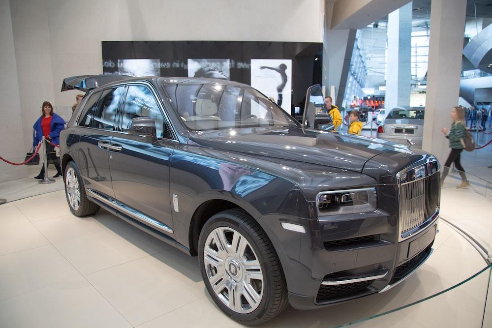 black classic car
