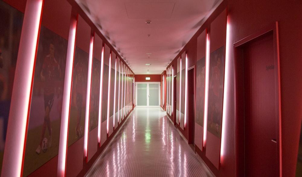 building's hallway
