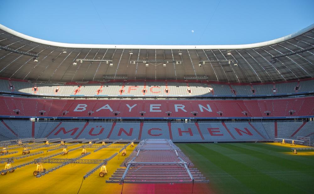 empty Bayern Munchen stadium during daytime