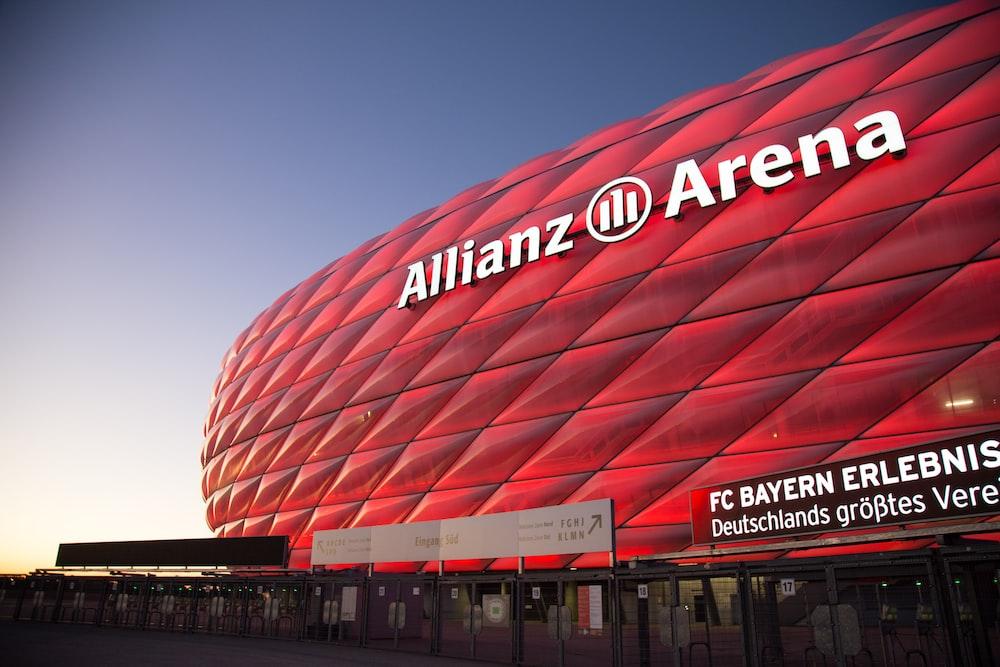 red Allianz arena