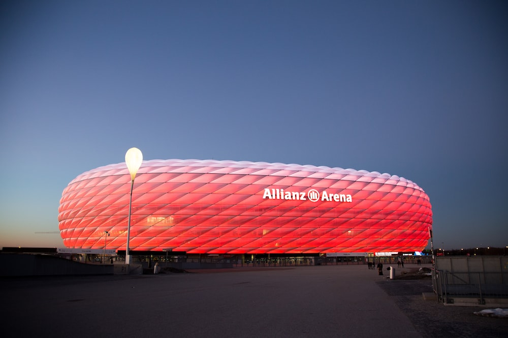 red Allianz Arena
