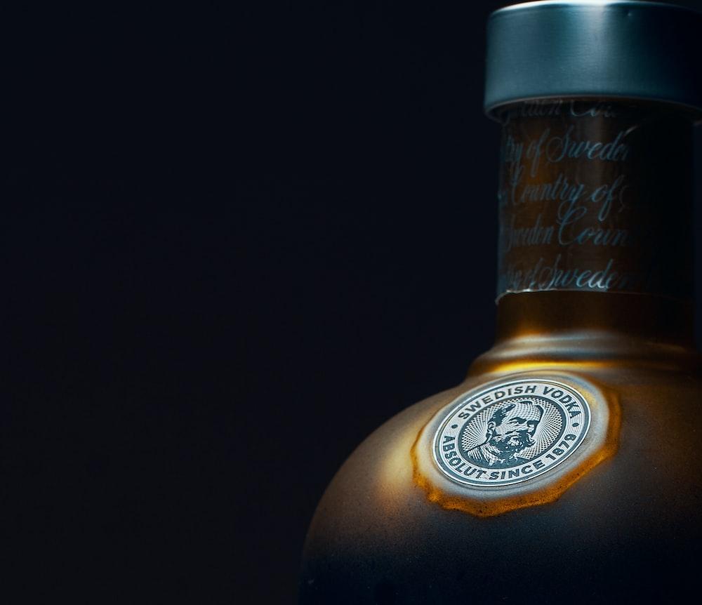 gray bottle
