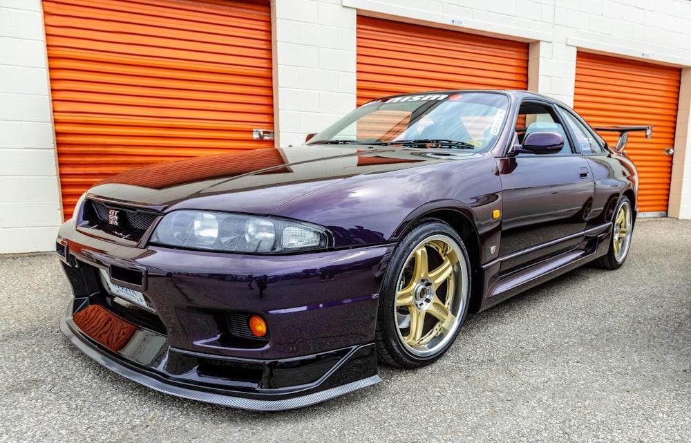 purple SEAT coupe