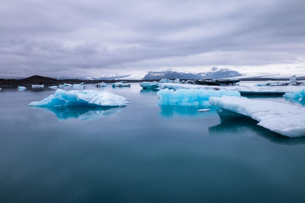 iceberg at daytime