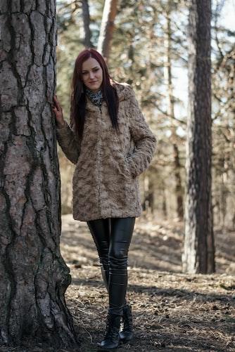 women shearling jacket