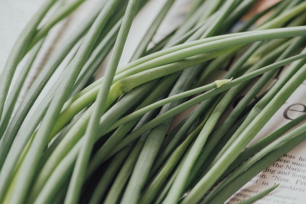 green scallions