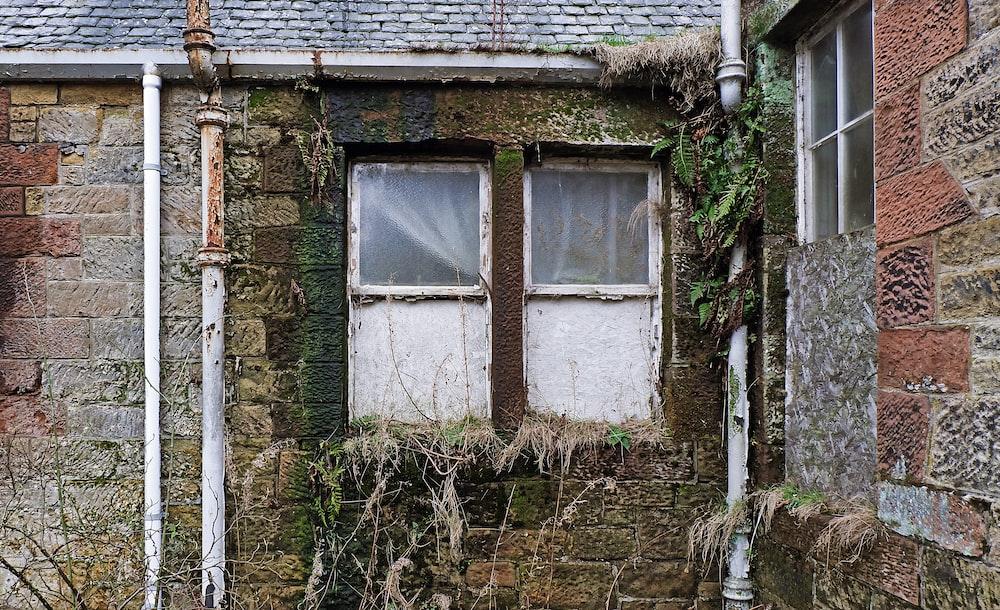 closed white windows