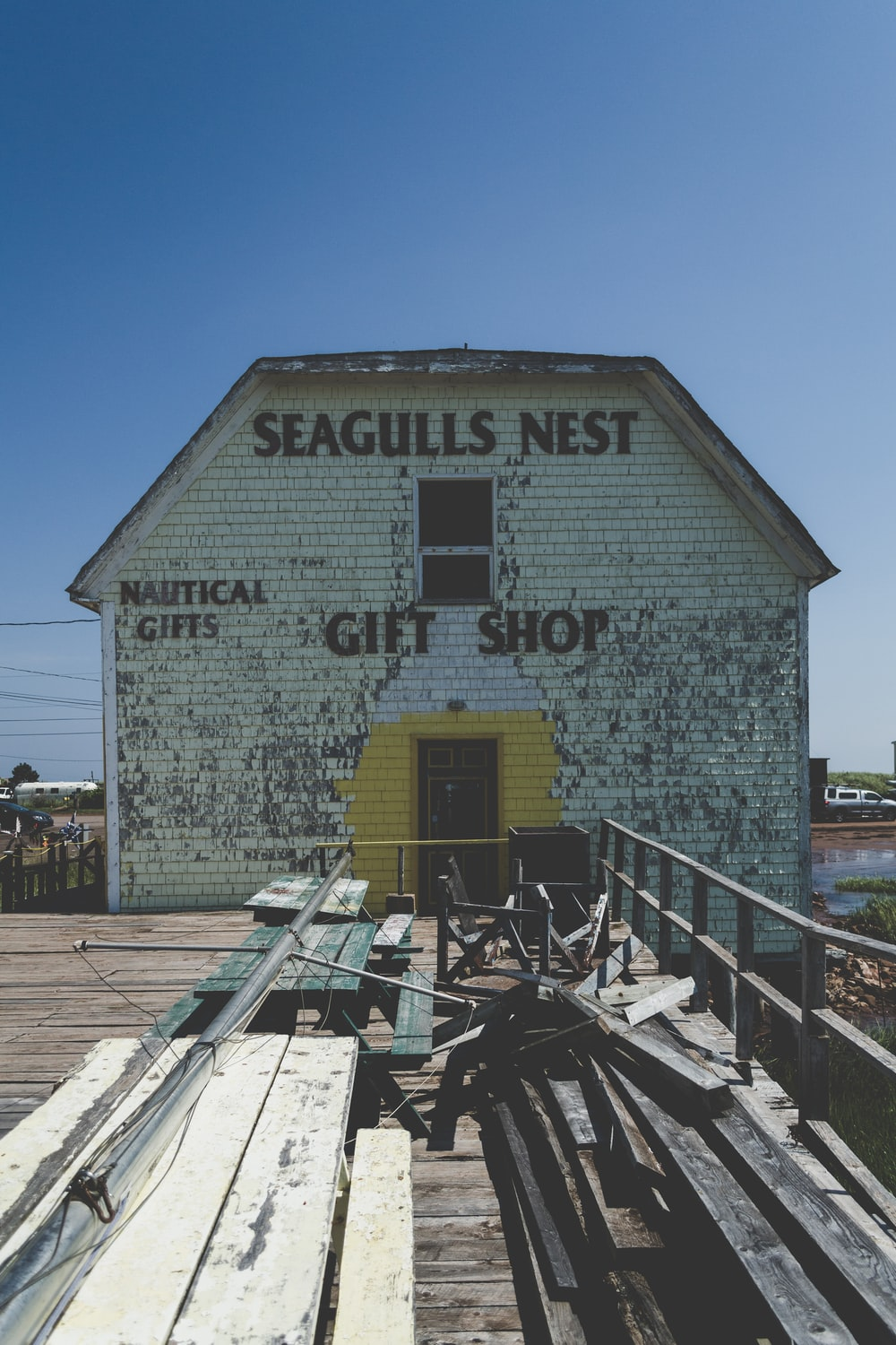 Seagulls Nest shed