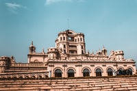 This is the main building of La Martinière College in Lucknow. It was built in 1836 by French Office, Major General Claude Martin.