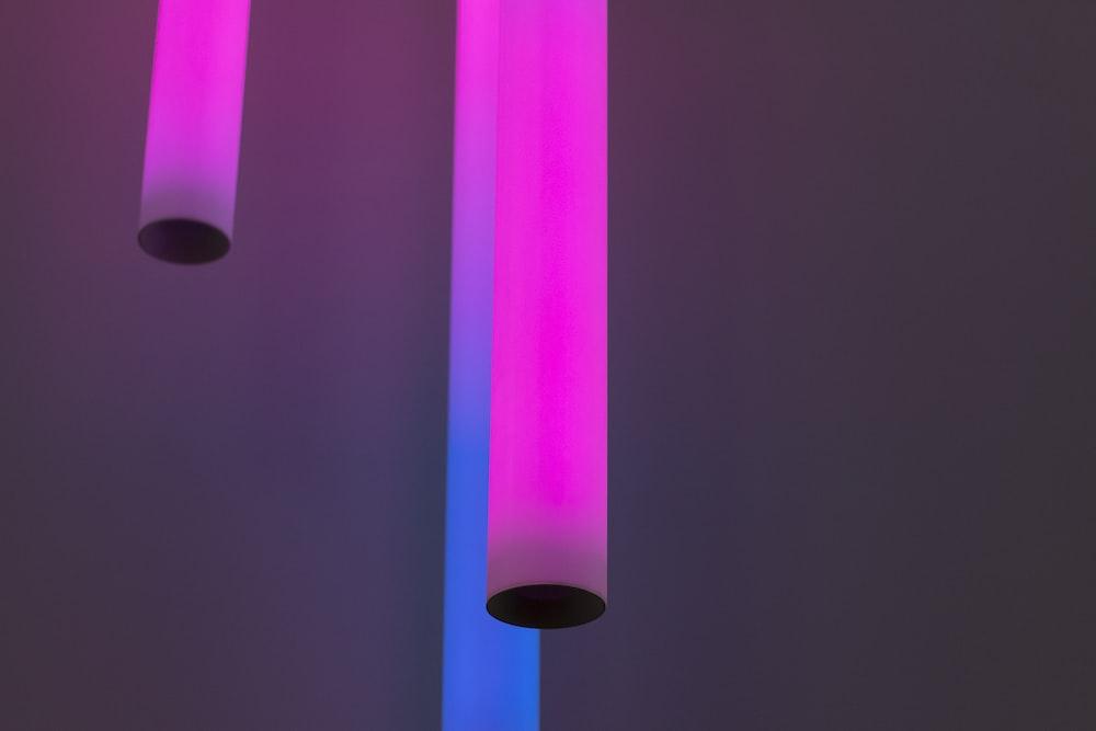 pink neon tube